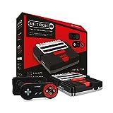 Hyperkin RetroN 2 SNES / NES Video Games Twin Console (Black)