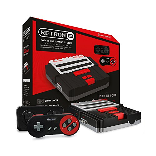 Hyperkin RetroN Gaming Console SNES Black