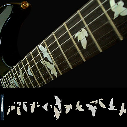 (Fretboard Markers Inlay Sticker Decals for Guitar & Bass - Birds in Flight-WP)