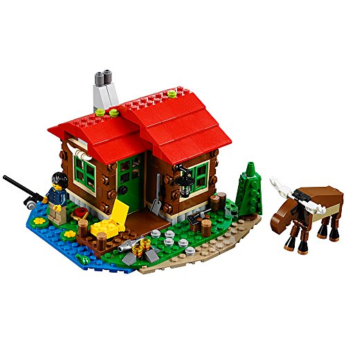 Lakeside Lodge - LEGO Creator Lakeside Lodge 31048 Building Toy