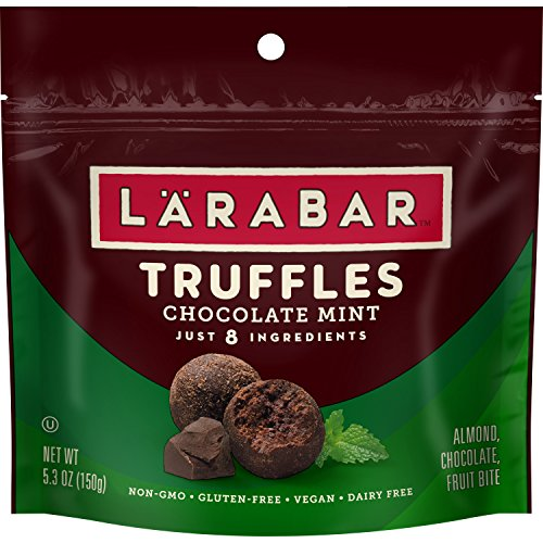 Mint Truffle Bar - LARABAR Truffles, Chocolate Mint, 5.3 oz. (6 Pouches)