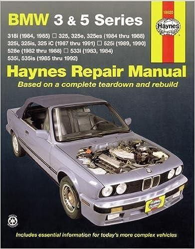 Haynes Manuals 18020 Bmw 3 5 Series 8292 Haynes Repair Manuals