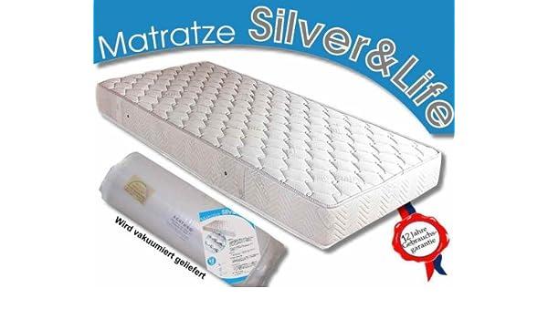 Matratzen Suave colchón 140 x 210 Silver Life/18 cm Altura H3 de Espuma fría/látex Colchones: Amazon.es: Hogar
