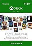 Video Games : $12 Xbox Game Pass Gift Card - Xbox One [Digital Code]