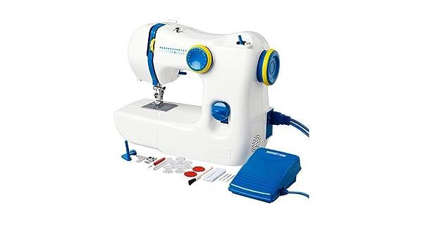 IKEA máquina de coser, blanco/azul + 10-rebajas accesorios-Set. 13 ...