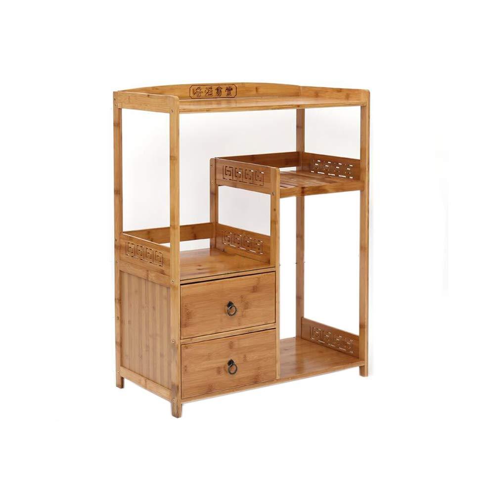 T4 XUERUI Shelves Shelf Magazine Table Bamboo Wood Solid Bedside Storage Paper Rack (Size   T9)