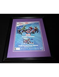 Disney Marvel Infinity 2014 PS3 Framed 11x14 ORIGINAL Vintage Advertisement B
