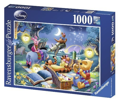 Ravensburger Winnie the Pooh Star Gazing 1000pc jigsaw puzzle by Ravensburger