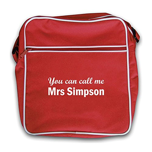Mrs Simpson Red Red Retro Bag Retro Mrs Simpson Flight gBnqw