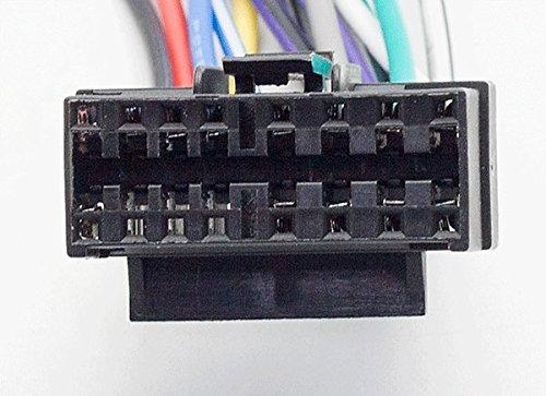f Select Models 16-Pin CARAV 15-109 ISO Autoradio Adapterkabel for Sony CD-; CDX-; MD-; MDX-; Mex-; WX-; XR-; XT-; XAV-Series //// JVC KD-; KS-; KW-Series - ISO 30x12mm
