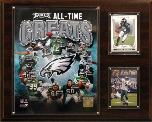NFL Philadelphia Eagles All -Time Great Photo Plaque