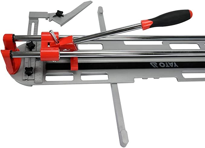 Yato Professional Tile Cutter Selection 400-600 mm up to 12 mm Thickness Aluminium Die-Cast Cutting Angle: 0-45 ° Tile Cutter Manual Tile Cutter: Amazon.de: Baumarkt