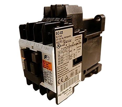 1PC   FUJI DC Contactor SC-03//G DC24V 13NO