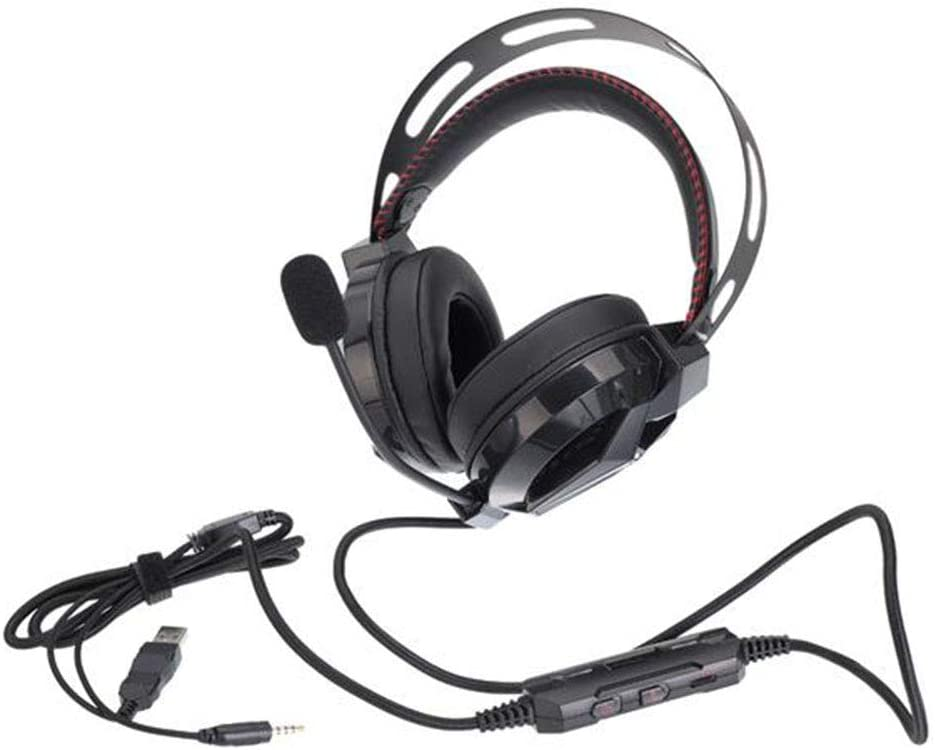 Noise Cancelling Microphone Wired Gaming Headset LIUWENMEI Gaming Headset Stereo Gaming Headset 7.1 Surround Sound