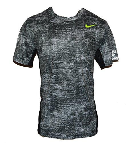 Nike Men's Vapor Dri-FIT Nike Pro Training Running Shirt X-Large Black White