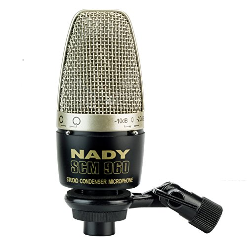 Large Diaphragm Condenser True (Nady SCM-960 Large Diaphragm Microphone with Pattern Selection)