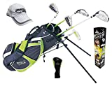 Paragon Rising Star Kids Clubs Set / Ages 8-10 Green / RH