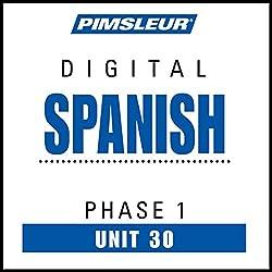 Spanish Phase 1, Unit 30