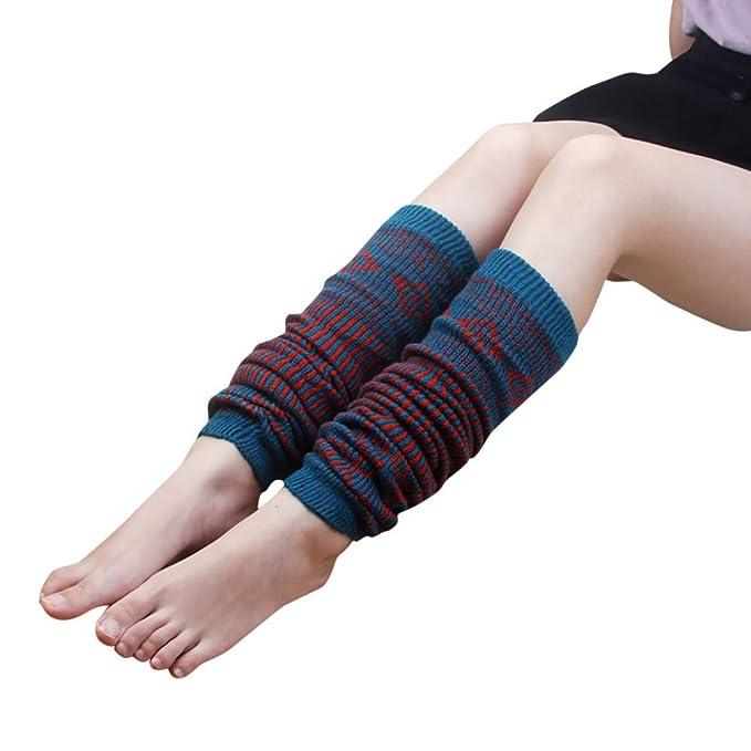 Odjoy Fan Frau Winter Weich Stiefel Lange Socken Strickensocken