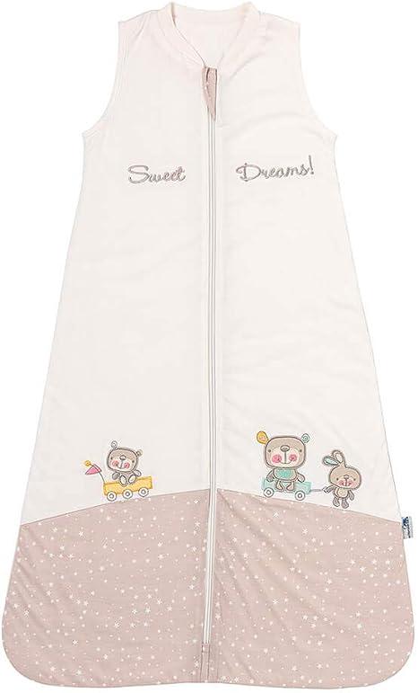 Schlummersack - Saco de dormir ligeramente forrado para bebés primavera/ verano, 1,0 tog, para niñas y niños, disponible en diferentes colores y tamaños Sweet Dreams Talla:90 cm: Amazon.es: Bebé