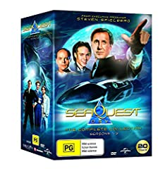 Winner of 2 Primetime Emmys Arguably one of TV's greatest Sci Fi series, for the first time ever SeaQuest is now available as a complete collection. Unimaginable adventure awaits in the spectacular undersea world of SeaQuest DSV. The amazing ...