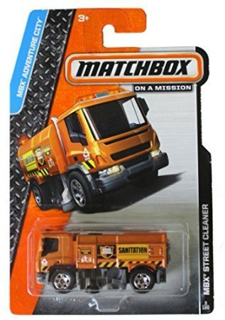 Matchbox 2014 On A Mission: Mbx Adventure City Street Cleaner (Street Cleaner)
