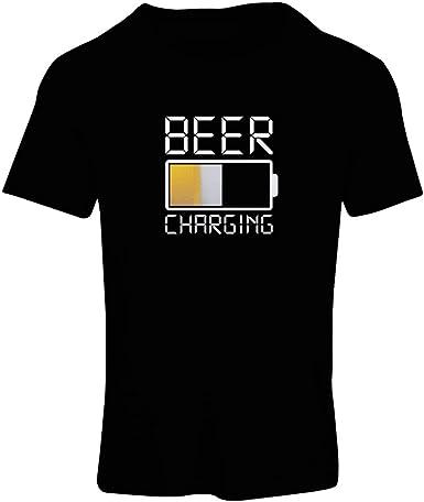 lepni.me Camiseta Mujer Carga de Cerveza, Citas Divertidas, Humor de Bar para Amantes de la Cerveza
