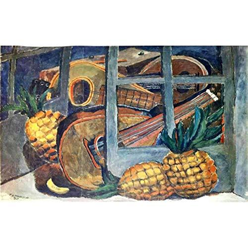 Rufino Tamayo Mandolins and Pineapple 1930 Original Lithograph