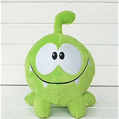 "MIVERA kawaii 7"" 20cm om nom frog plush toys cut the rope Soft rubber cut the rope figure classic toys game lovely gift for kids RedGlobe: Toys & Games"