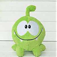 """MIVERA kawaii 7"""" 20cm om nom frog plush toys cut the rope Soft rubber cut the rope figure classic toys game lovely gift for kids RedGlobe"""
