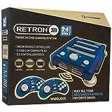 Hyperkin RetroN 3 System NES/SNES/GENESIS 2.4 GHz Edition Bravo Blue