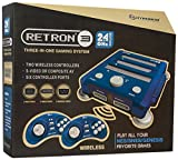 Hyperkin RetroN 3 Gaming Console 2.4 GHz Edition for SNES/ Genesis/ NES (Bravo Blue)
