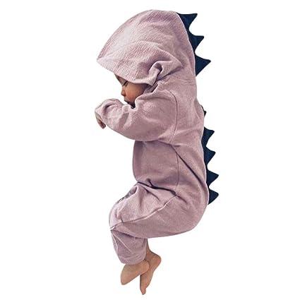 0e277eaf0feed かわいい 小恐竜 ロンパース ベビー服 女の子 赤ちゃん服 幼児 子供服 男の子 フード付き 長袖 4