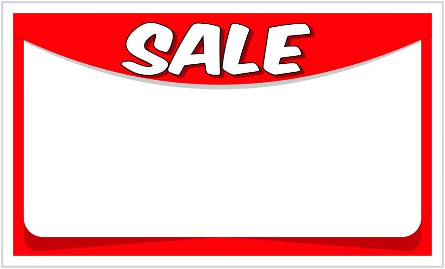 Special Sale Retail Store Signs Retail Store Tags Clearance 3x5 Pack of 150 Sign Retail Display Signs Card Stock Signs Retail Sale Signs