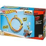 Hot Wheels Kids Pack Race On Wall Mega Speed - Power Loop