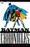 The Batman Chronicles, Bill Finger, 140121682X