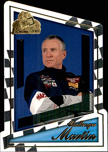 2001 NASCAR Press Pass Premium #63 Mark Martin