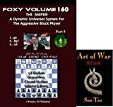 Foxy Chess Openings, 160: The Sniper! DVD & ChessCentral's Art of War E-Book (2 Item Bundle) by GM Ron Henley
