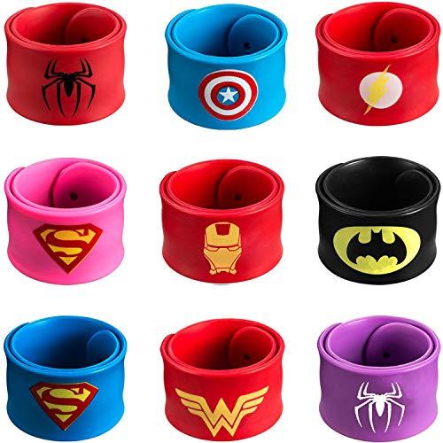 Superhero Slap Bracelet – Superhero Bracelet - Party