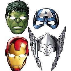 Avengers 'Assemble' Paper Masks (8ct)
