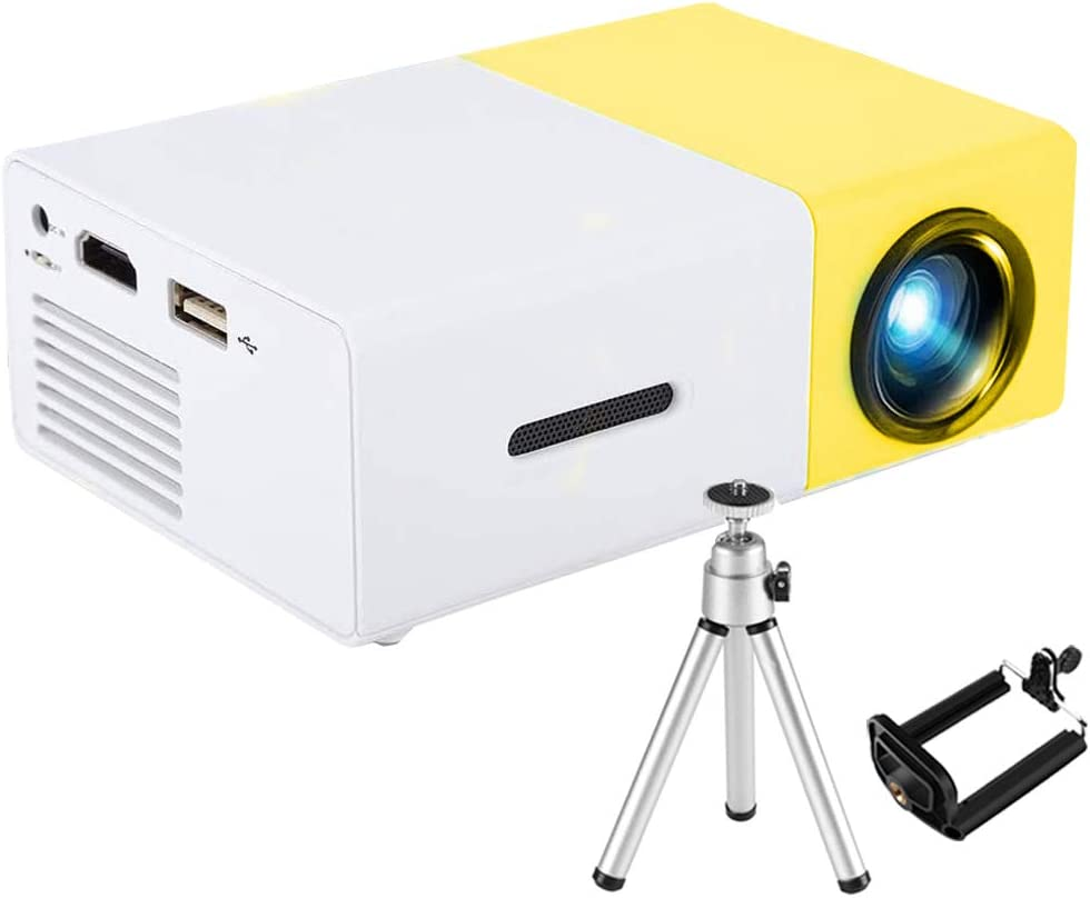 Mini Port/átil Full HD Soporta 1080P Proyectores Cine en Casa con Audio Hi-Fi Pantalla 100 Pantalla de Proyecci/ón LED 50000 Horas con HDMI//VGA//AV// TF//USB 【2020 Nueva Versi/ón】 3000 L/úmenes Proyector