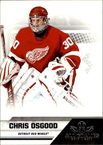 2010-11 Panini All Goalies Hockey #26 Chris Osgood Detroit Red Wings