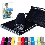 Mikrofaser Handtuch Set – Microfaser Handtücher für Sauna, Fitness, Sport I Strandtuch, Sporthandtuch I 1x XS(50x30cm…