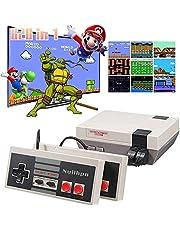 OLIV Classic Mini Retro Game Console, Two Player Game, Mini Game Console Built-in 620 Games with 2 Classic Controllers