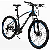 Murtisol Mountain Bike Men's and Women's Bike Fast Speed 26'' 21 Speed Hybrid