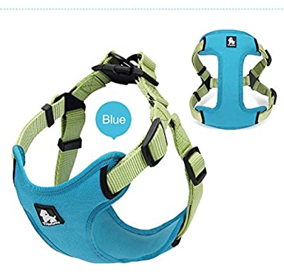 3M Reflective Dog Harness Adjustable Mesh Vest Outdoor Adventure Walking