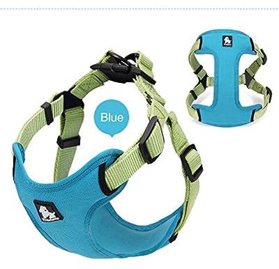 3M Reflective Dog Harness Adjustable Mesh Vest Outdoor Adventure Walking