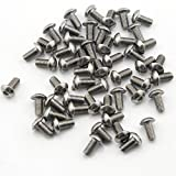 (US) Owfeel Pack of 50pcs M510MM Button Head Hex Socket Cap Screws 304 stainless steel bolts