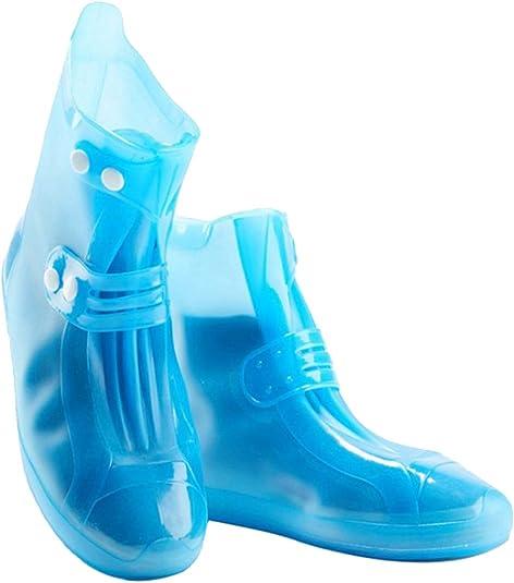 Wasserdichter Regenstiefel-Schuhüberzug mit Reflektor-Gummiband und G9Q3