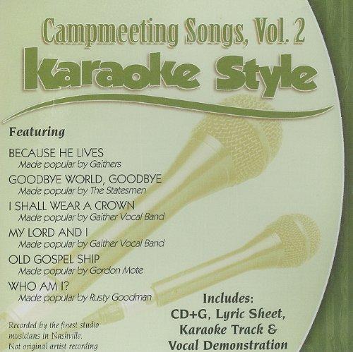 Daywind Karaoke - Campmeeting Songs Karaoke Style, Volume 2